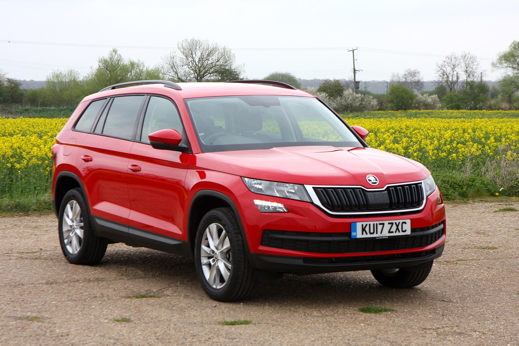 skoda kodiaq suv review 2017 parkers. Black Bedroom Furniture Sets. Home Design Ideas