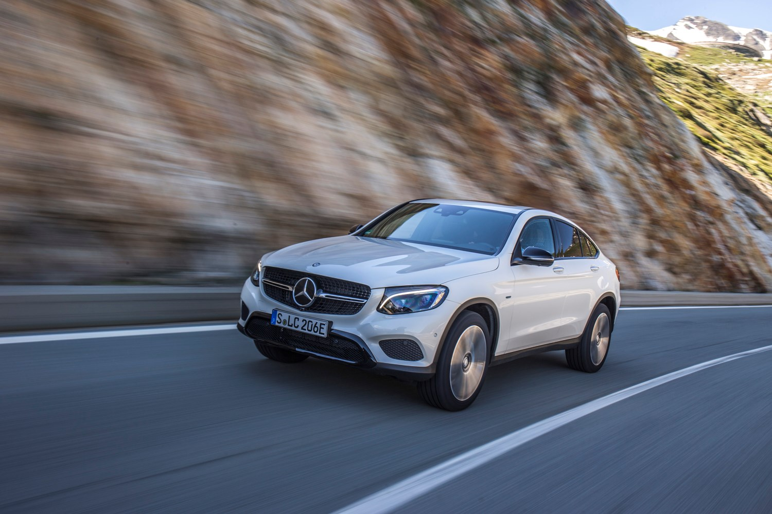 Mercedes-Benz GLC-Class Coupe (2019) Practicality & Boot