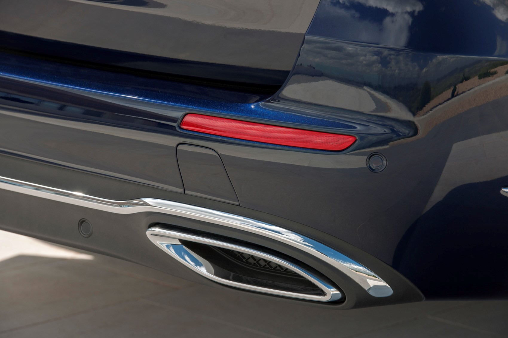 Rear Light Cer Mercedes Benz E Cl Estate Exhaust Trim
