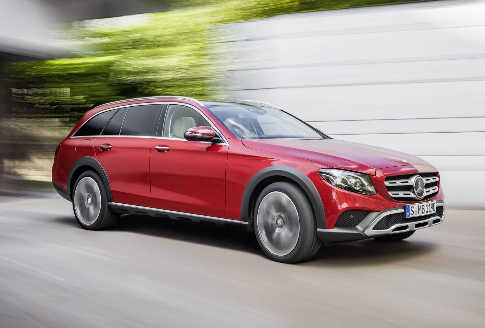 Mercedes benz e class all terrain review 2017 parkers for Mercedes benz westminster colorado