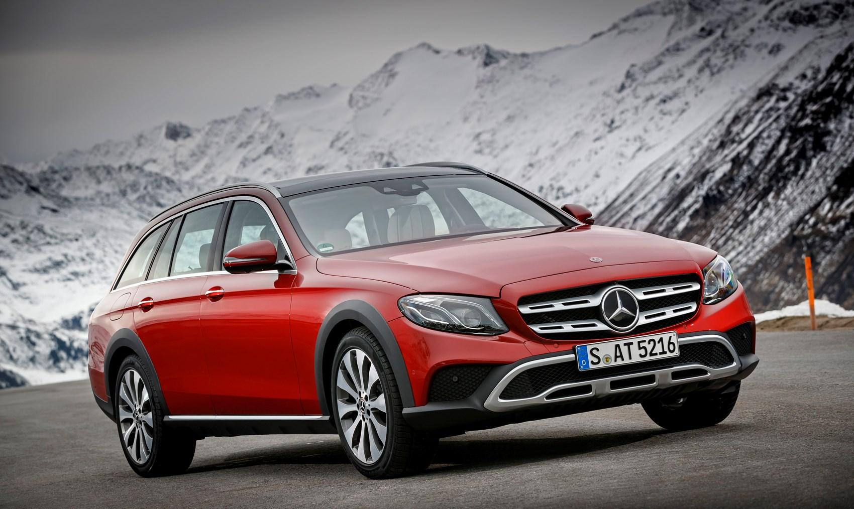 Mercedes benz e class all terrain 2017 photos parkers for How much is a mercedes benz e class