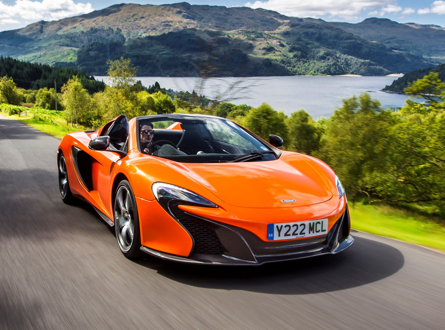 mclaren 650s spider convertible review 2014 parkers. Black Bedroom Furniture Sets. Home Design Ideas