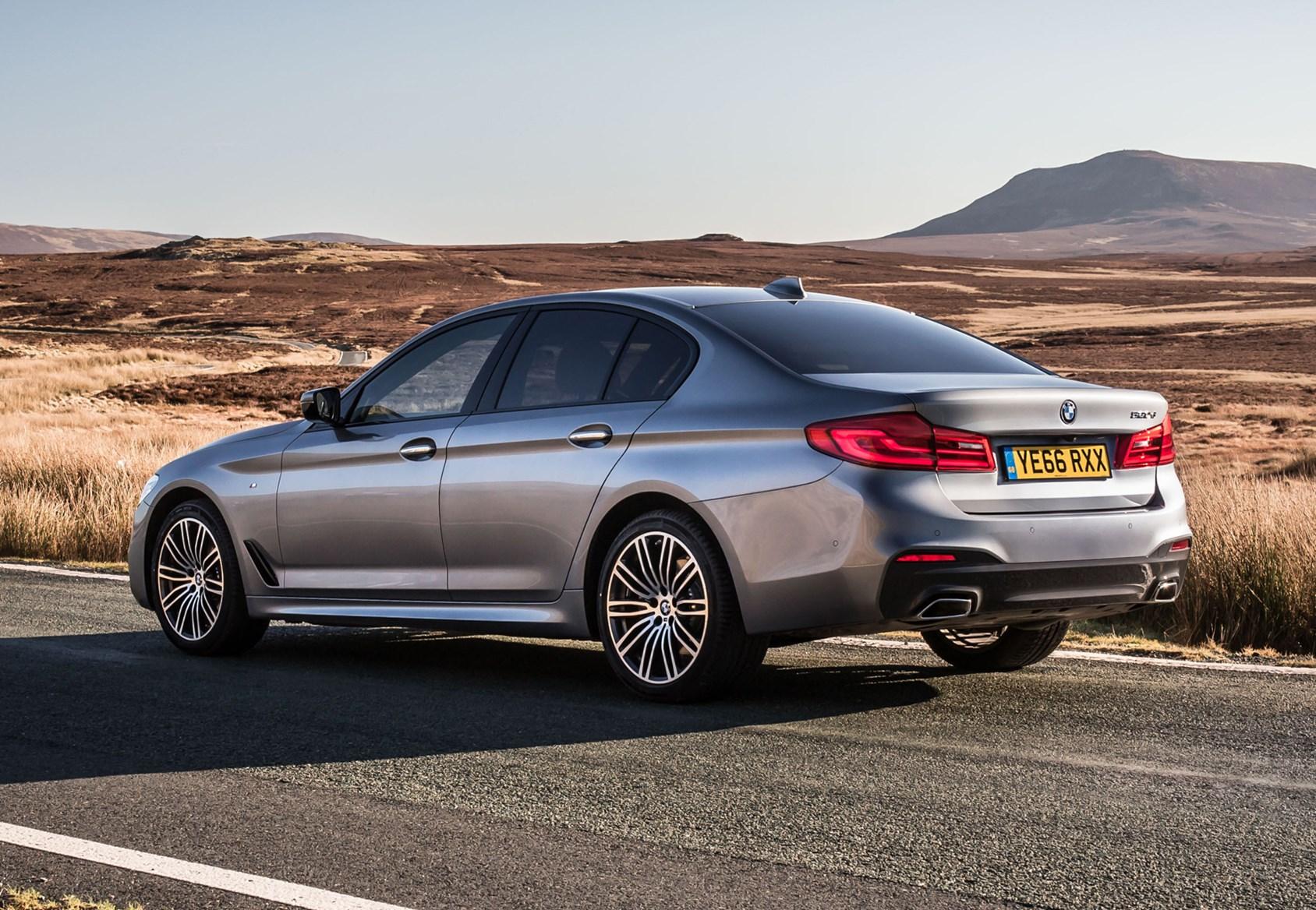 2016 Silver BMW 5 Series