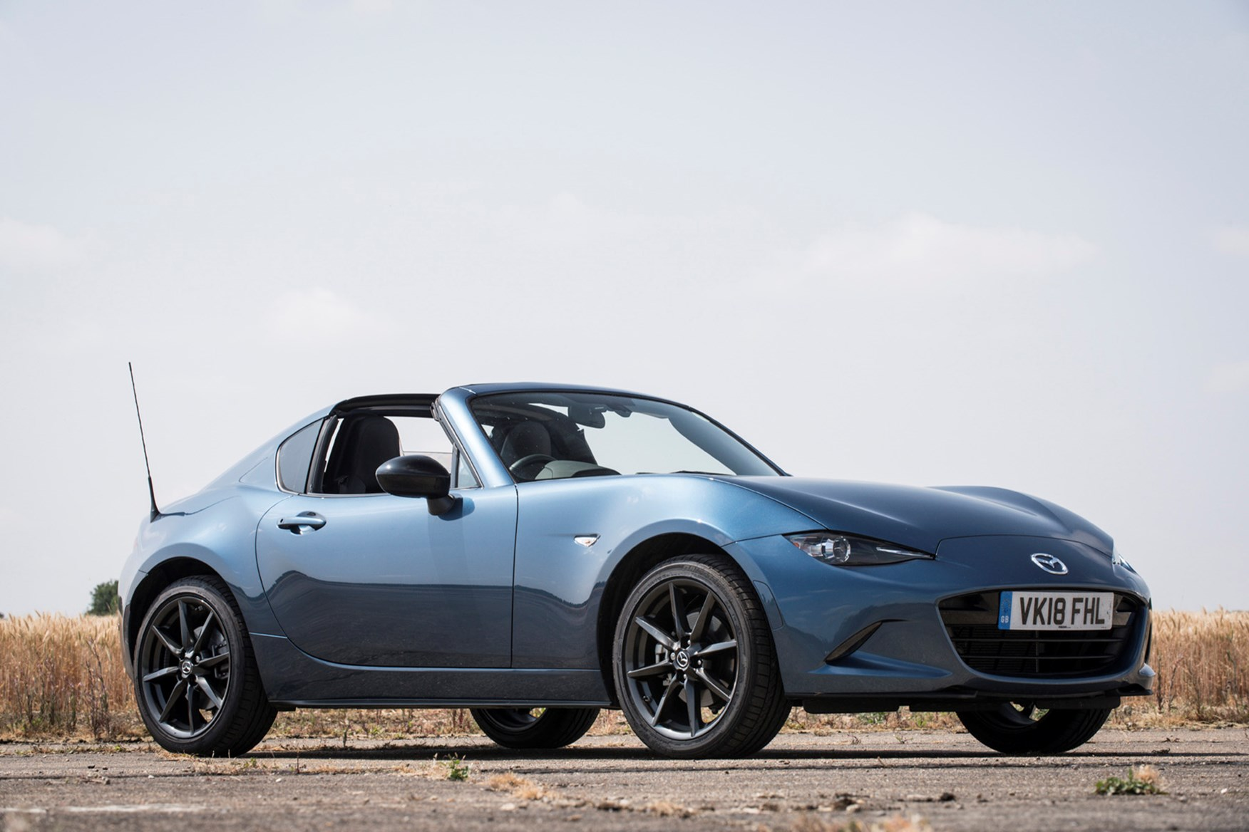 mazda mx 5 rf review parkers. Black Bedroom Furniture Sets. Home Design Ideas