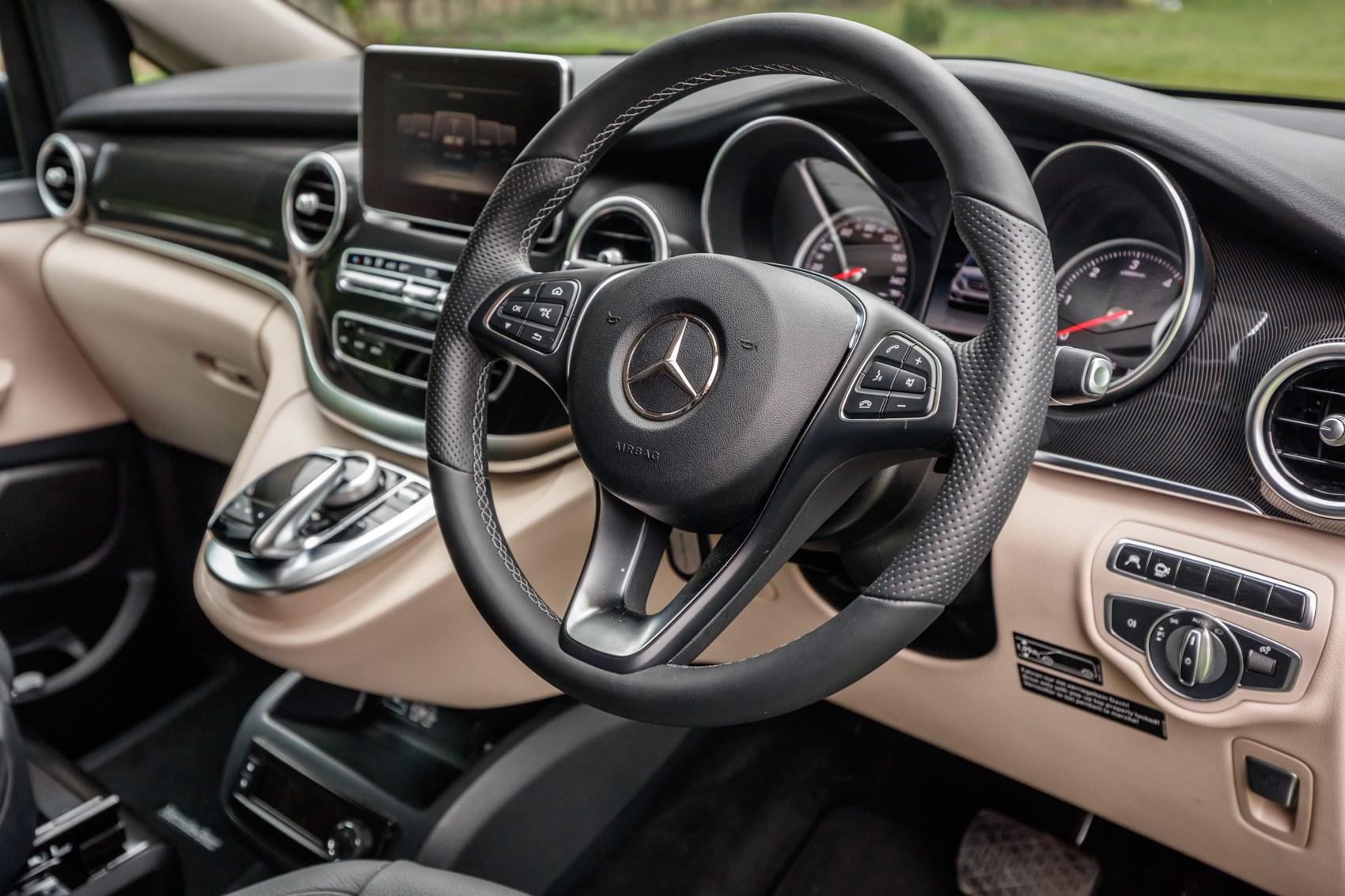 Mercedes benz v class marco polo 2017 features for Mercedes benz interior parts