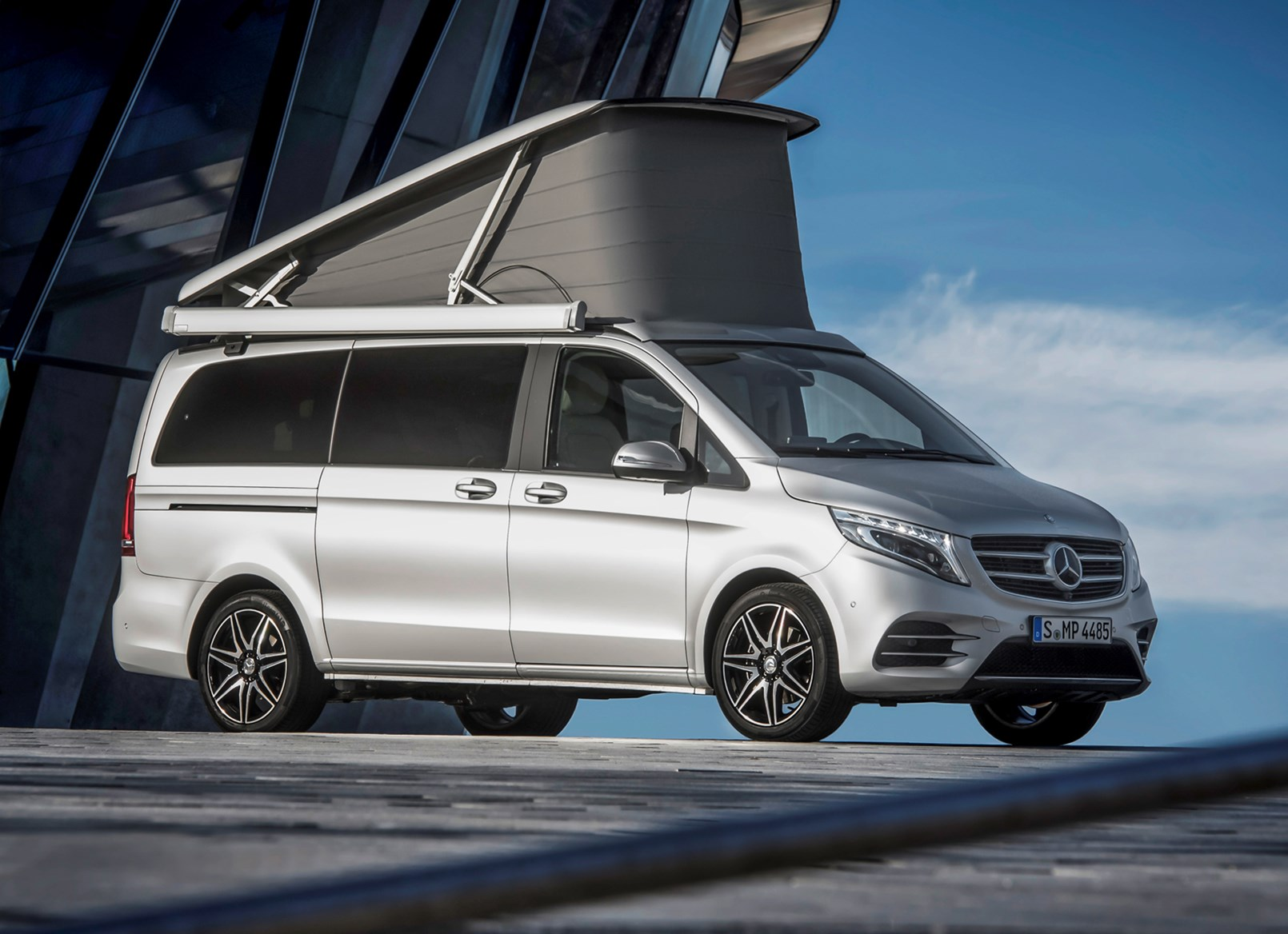 Mercedes benz v class marco polo review parkers for How much is a mercedes benz 2017