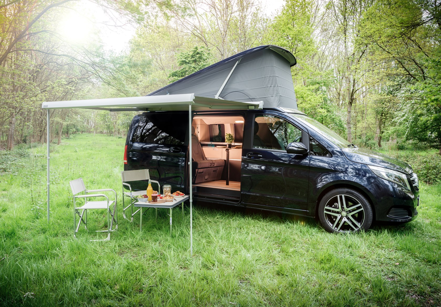 mercedes benz v class marco polo review parkers. Black Bedroom Furniture Sets. Home Design Ideas