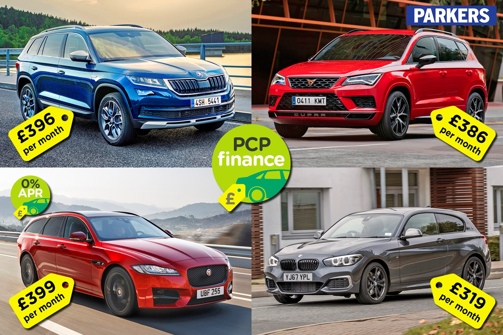 Car Finance Best New Cars For Less Than 400 Per Month Parkers
