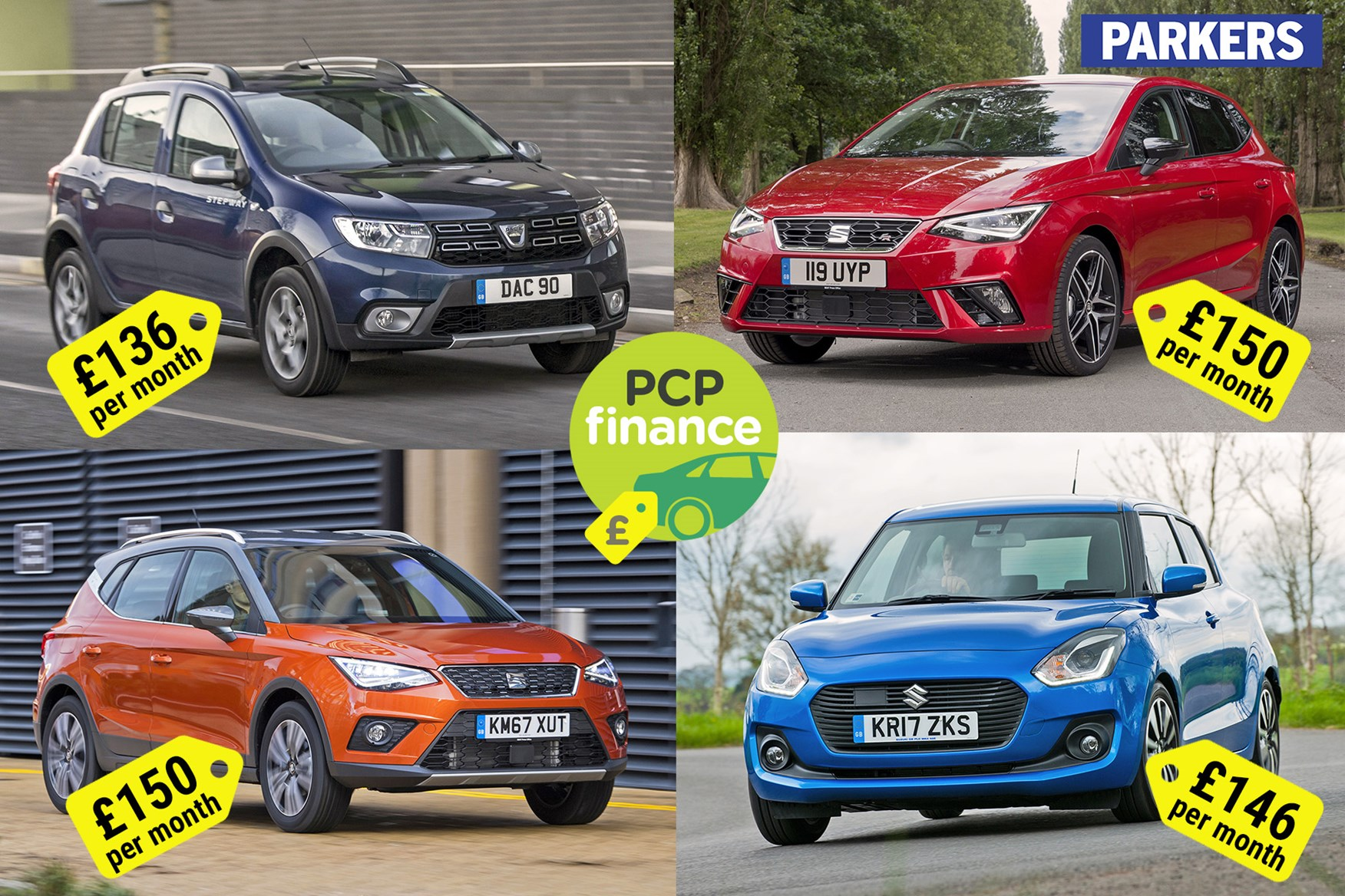 Car Finance Best New Car Deals For Less Than 150 Per Month Parkers