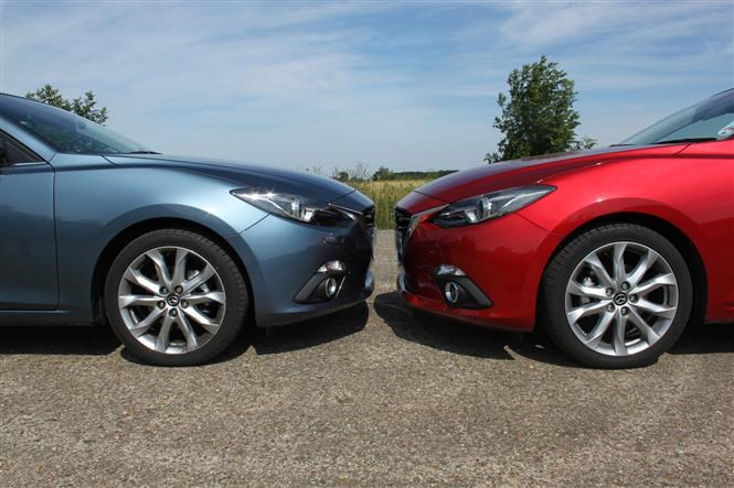 Mazda 3 Brothers Go Head To