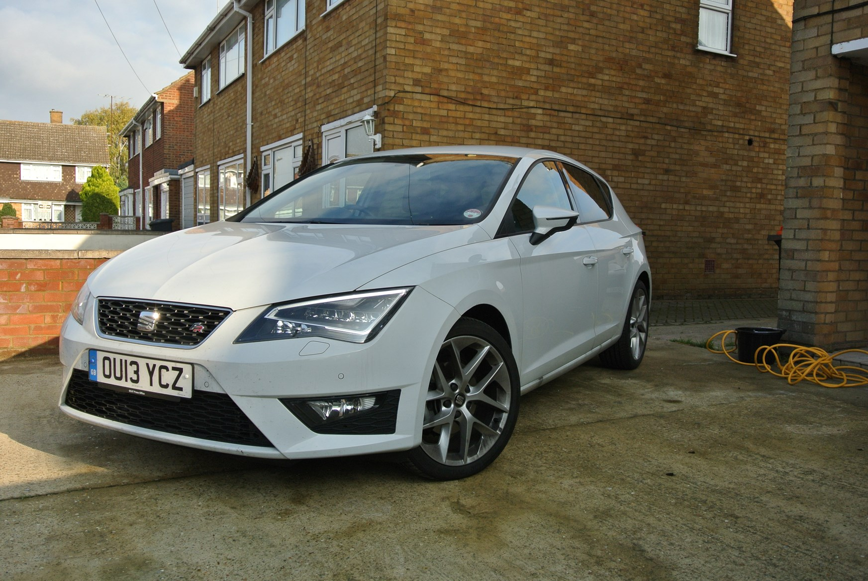 seat leon 2 0 tdi fr at the car wash parkers. Black Bedroom Furniture Sets. Home Design Ideas