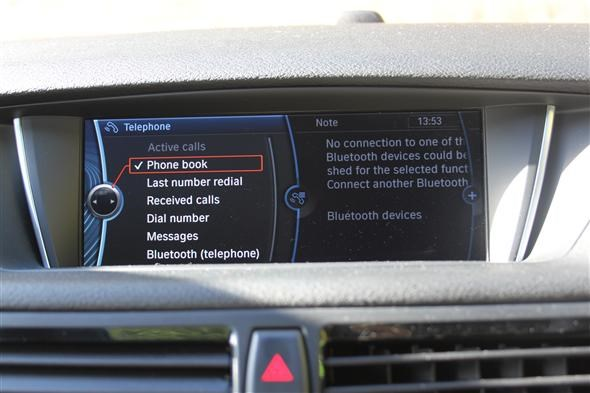 Bmw X1 That S Infotainment Parkers