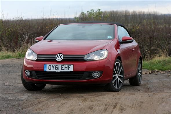 vw golf cabriolet the hard top option parkers. Black Bedroom Furniture Sets. Home Design Ideas