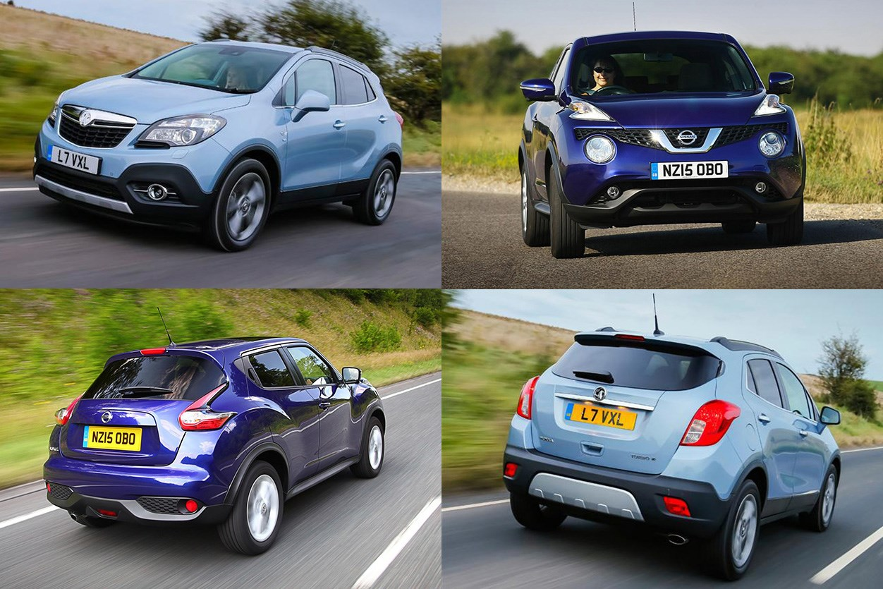 twin test: used compact suvs | parkers