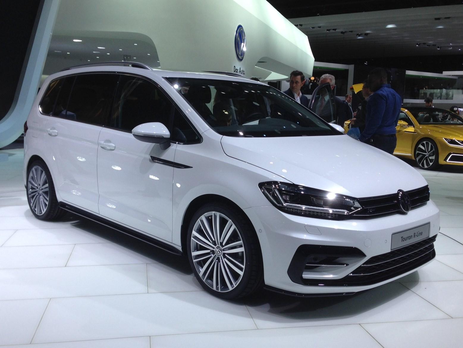 Geneva 2015 Volkswagen Parkers