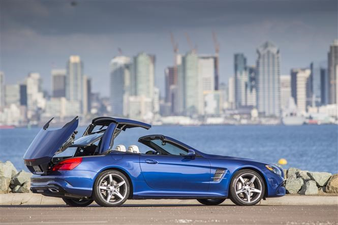 Sl500 Folding Metal Roof Now Works When Sl Cl Is In Motion