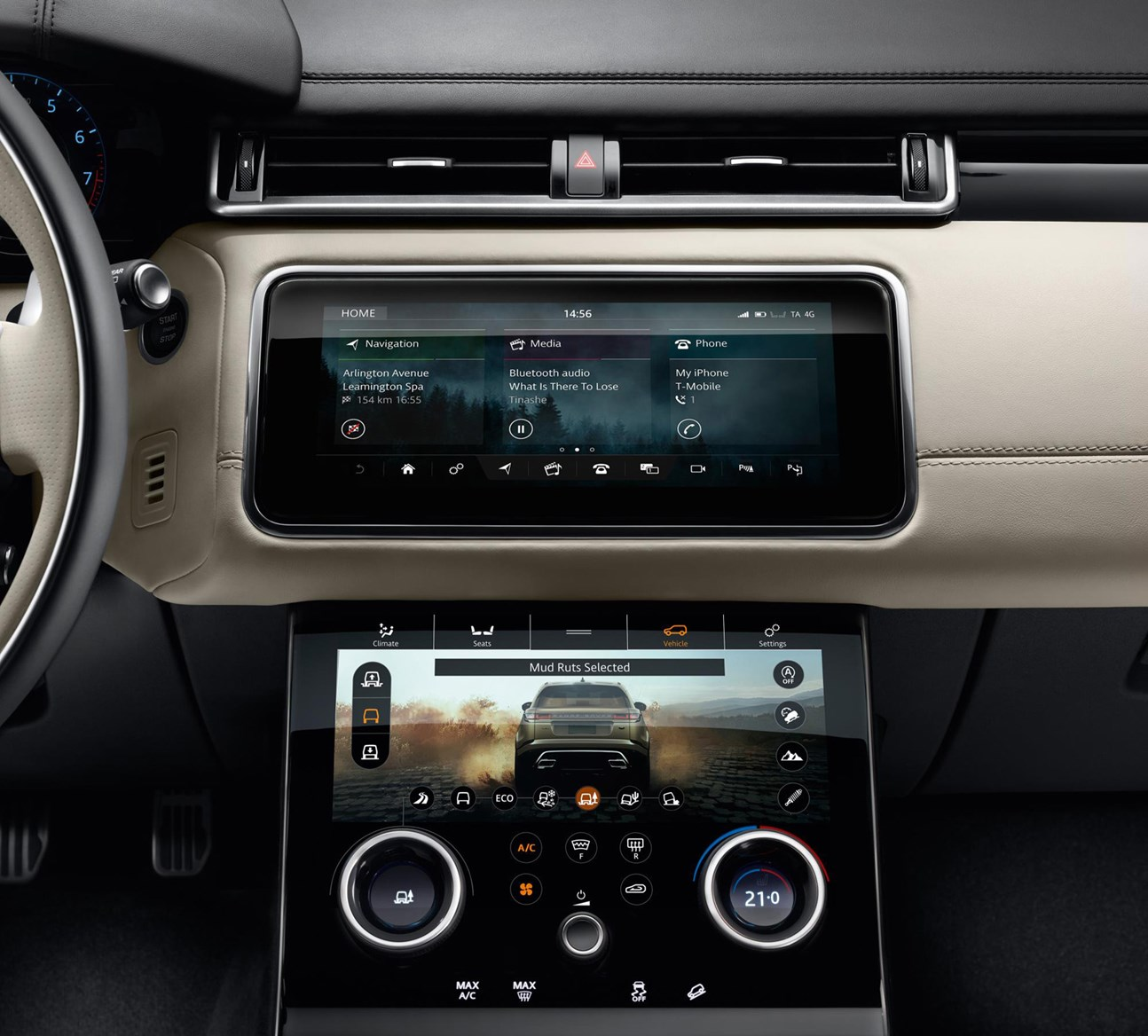 Land Rover Range 2017 Velar Interior Detail
