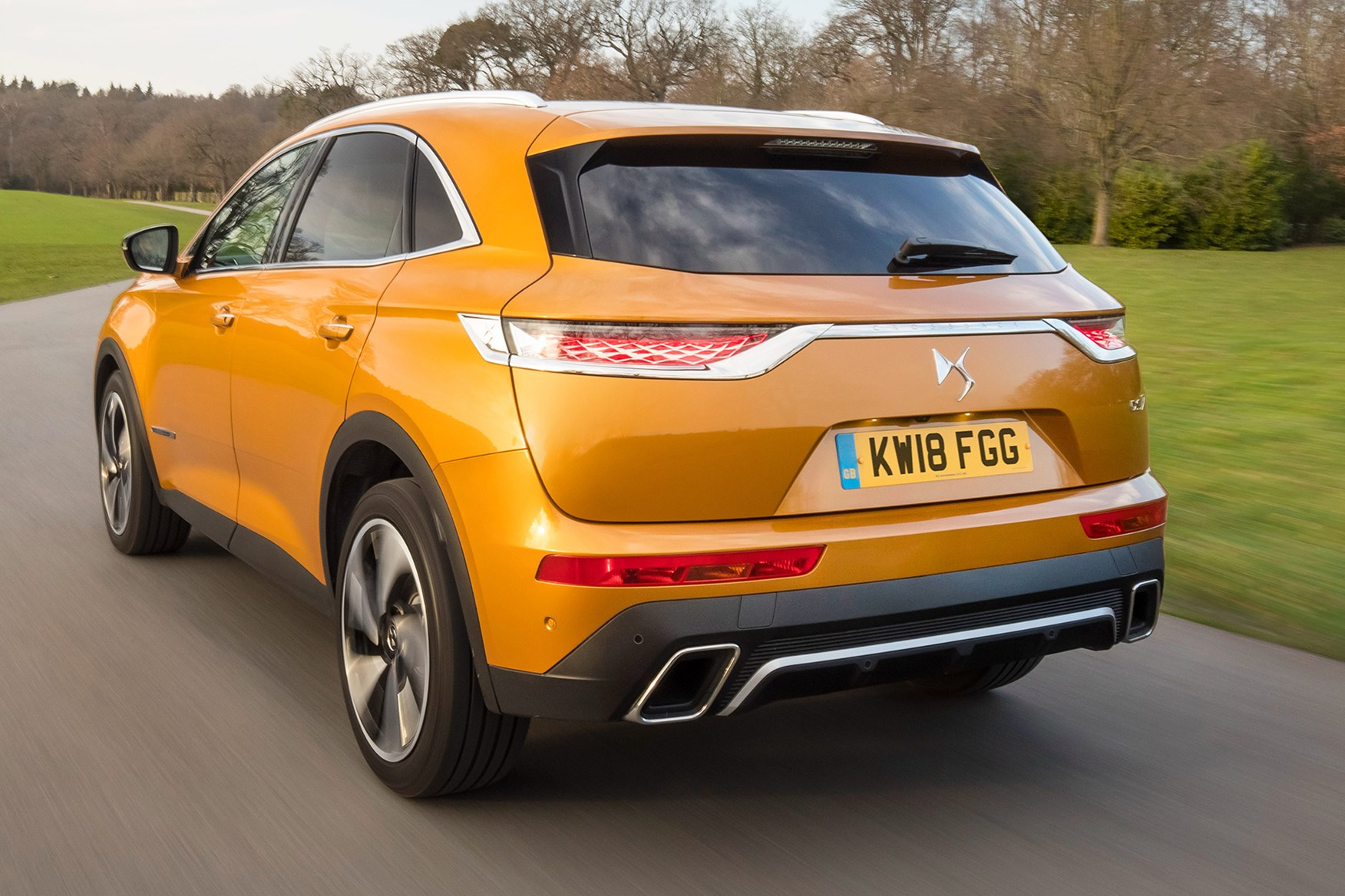 Range Rover Evoque Interior >> DS 7 Crossback review: summary | Parkers