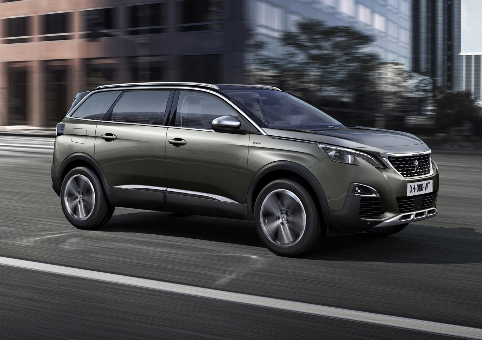 peugeot 5008 suv review running costs parkers. Black Bedroom Furniture Sets. Home Design Ideas