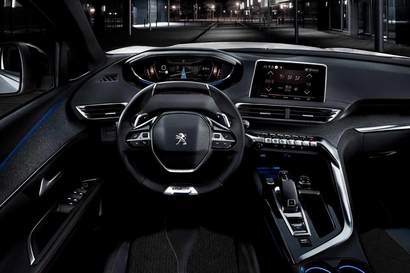 Peugeot 2017 5008 Suv Interior Detail