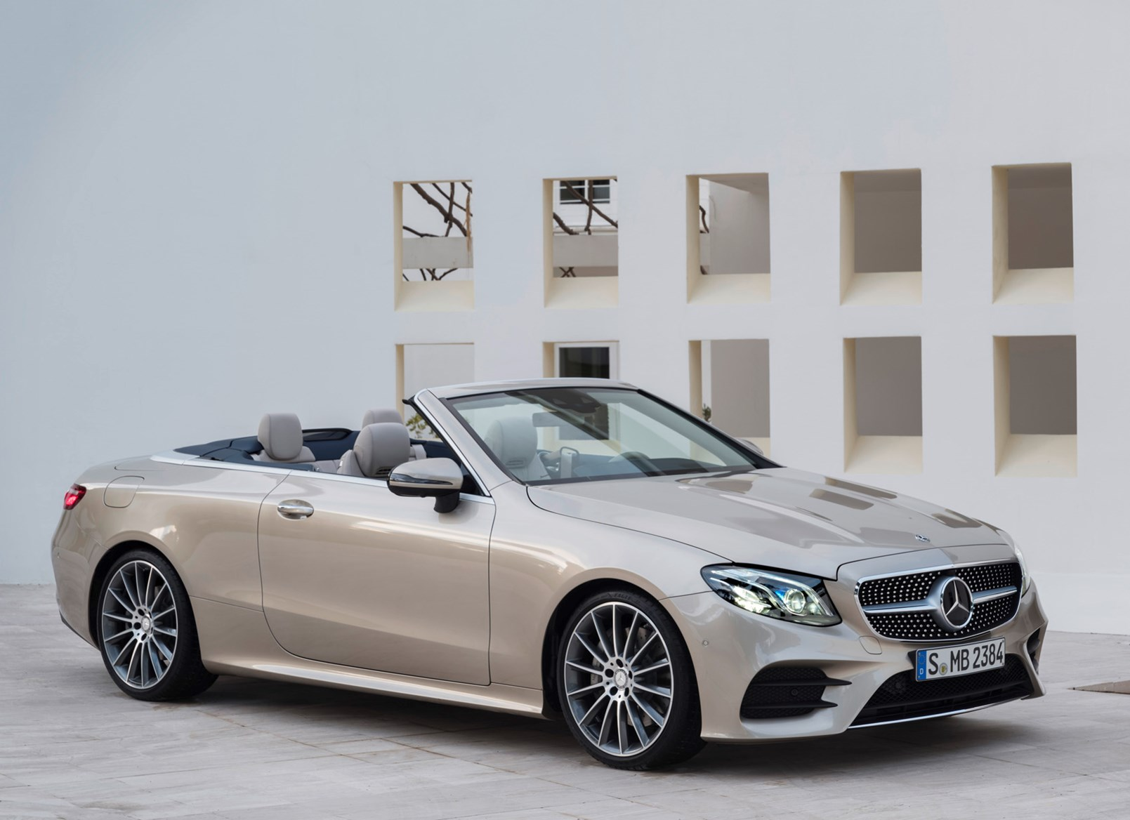Mercedes Benz 2017 E Cl Cabriolet Static Exterior