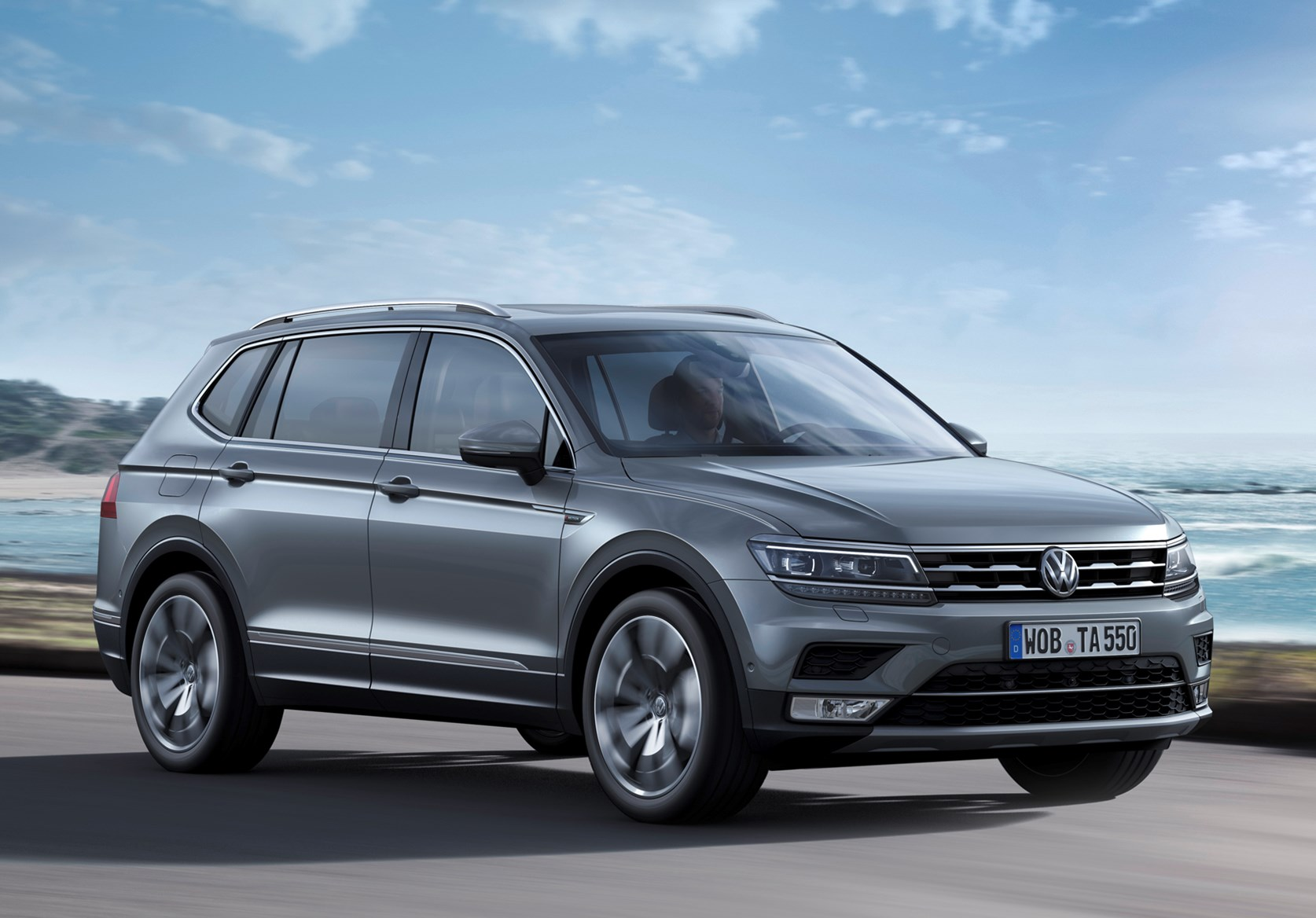 vw tiguan allspace review summary parkers. Black Bedroom Furniture Sets. Home Design Ideas