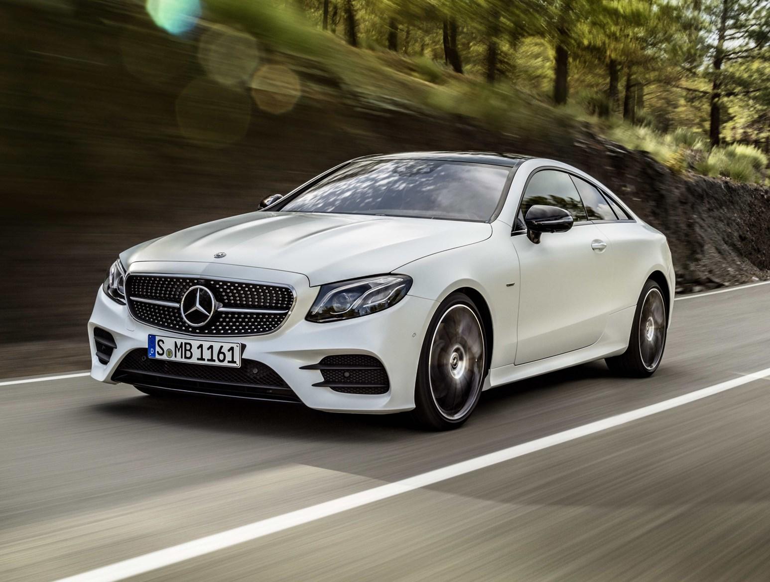 Mercedes Benz 2017 E Cl Coupe Driving