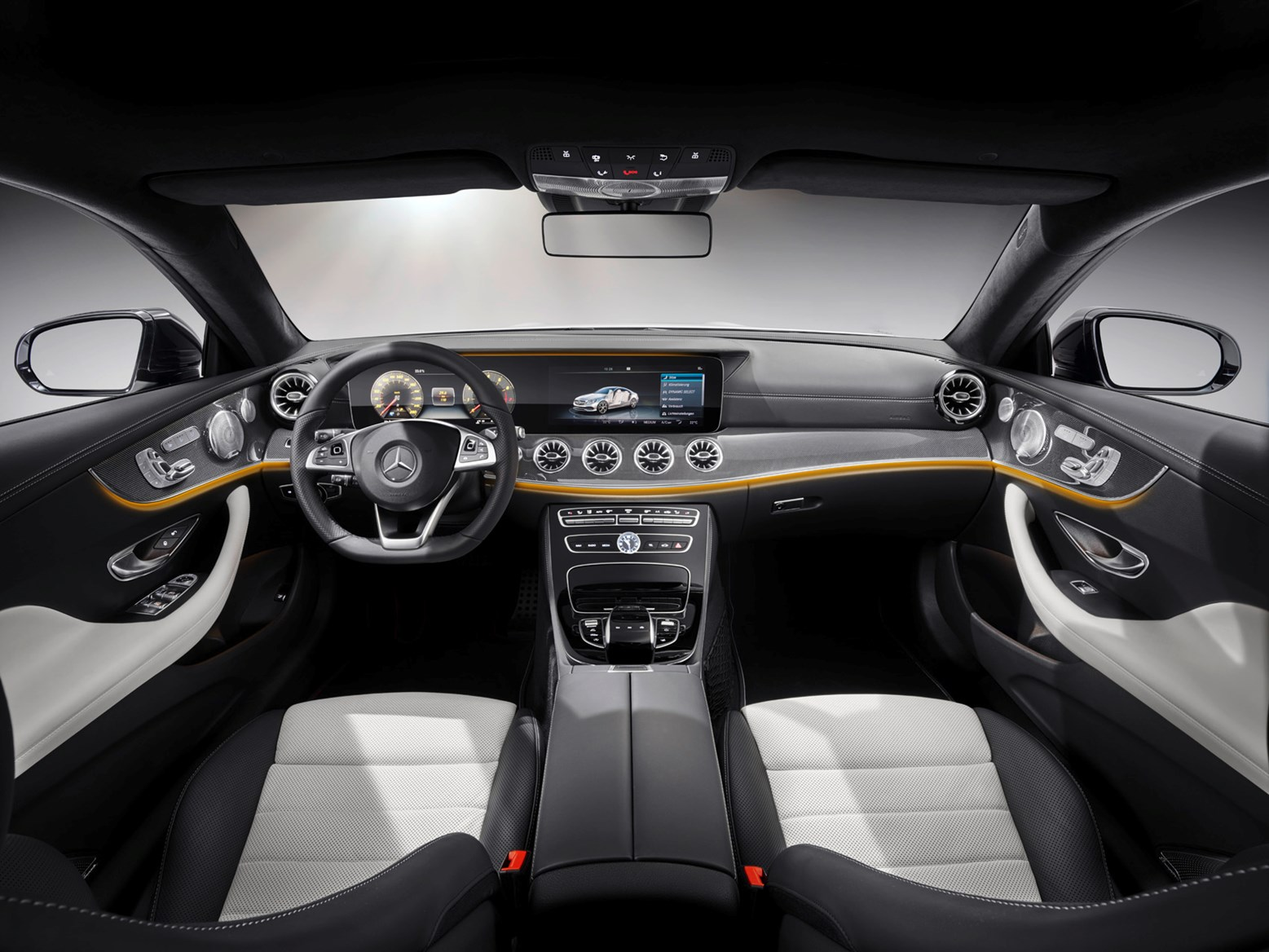 Mercedes Benz 2017 E Cl Coupe Interior Detail