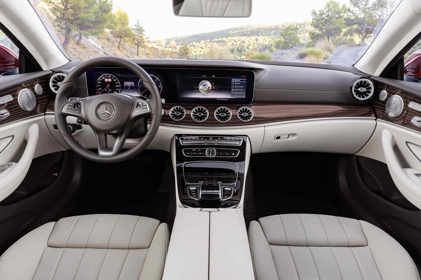 Mercedes Benz 2017 E Cl Coupe Interior Detail