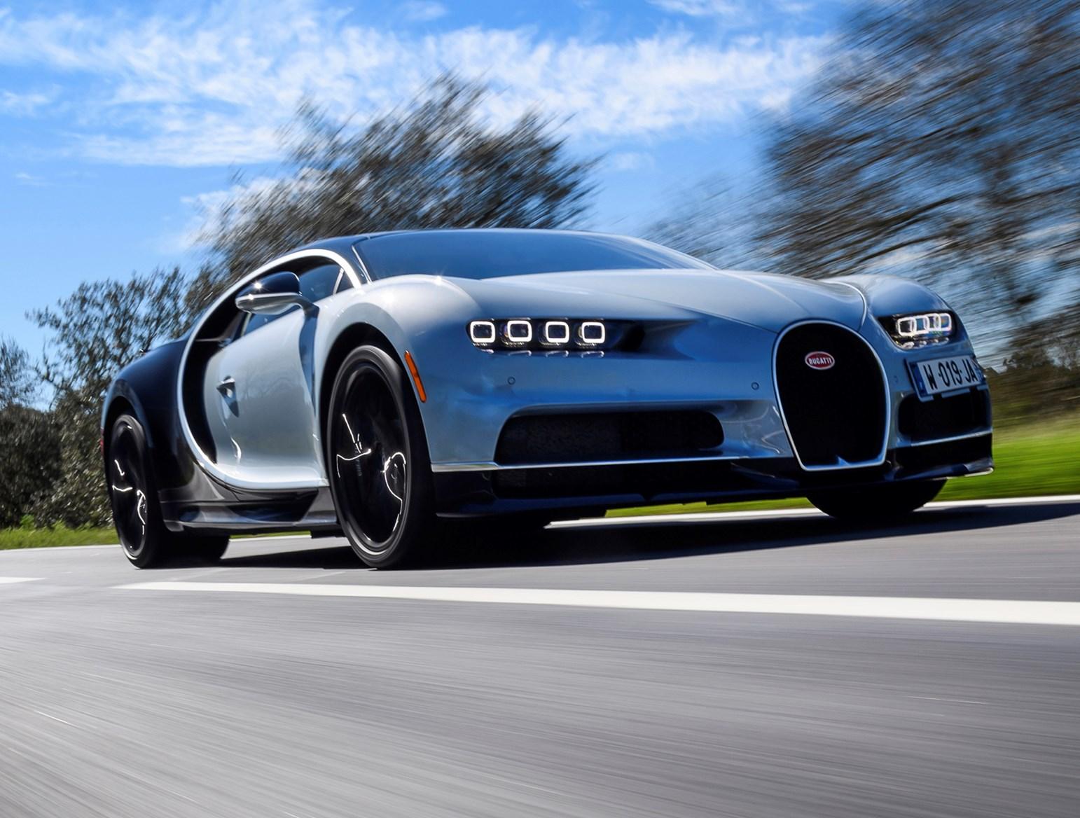 ... Bugatti 2017 Chiron Driving ...