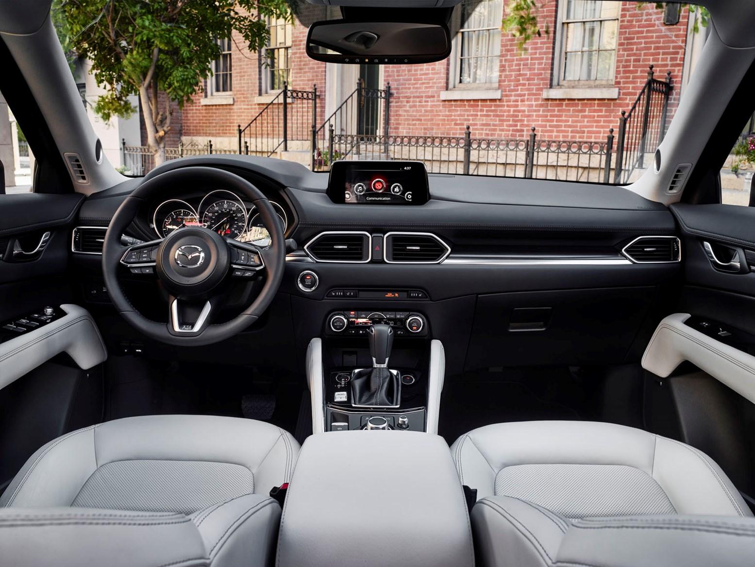 ... Mazda 2017 CX 5 SUV Interior Detail ...