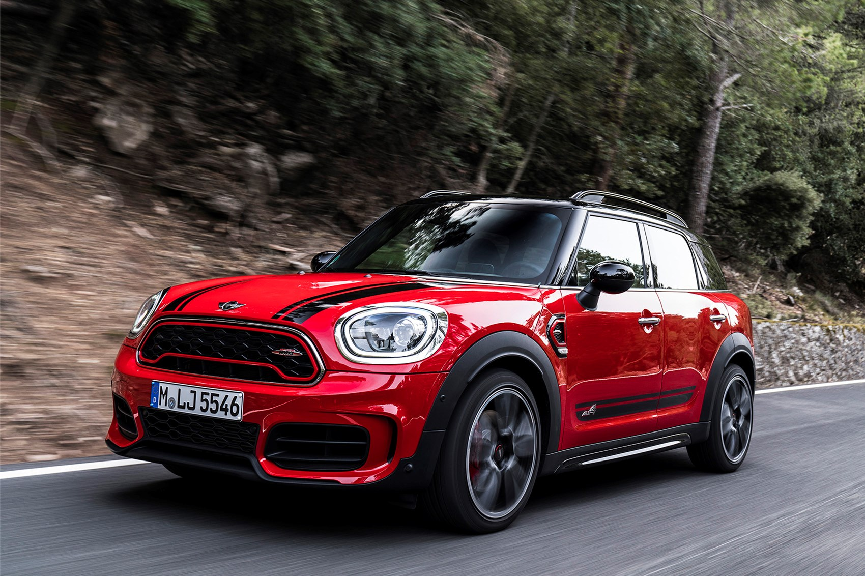 early drive mini countryman jcw parkers. Black Bedroom Furniture Sets. Home Design Ideas