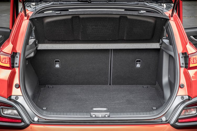 2019 Hyundai Kona boot