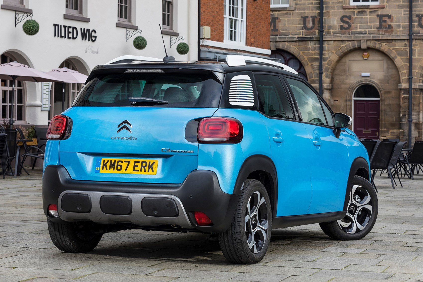 citroen c3 aircross review parkers. Black Bedroom Furniture Sets. Home Design Ideas