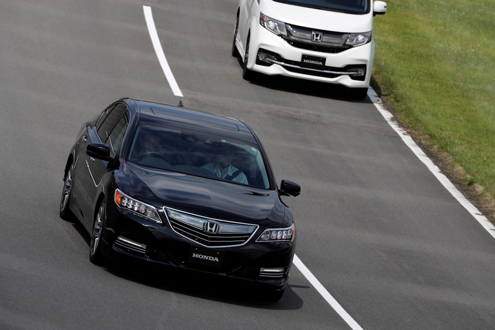 Honda Driverless Car