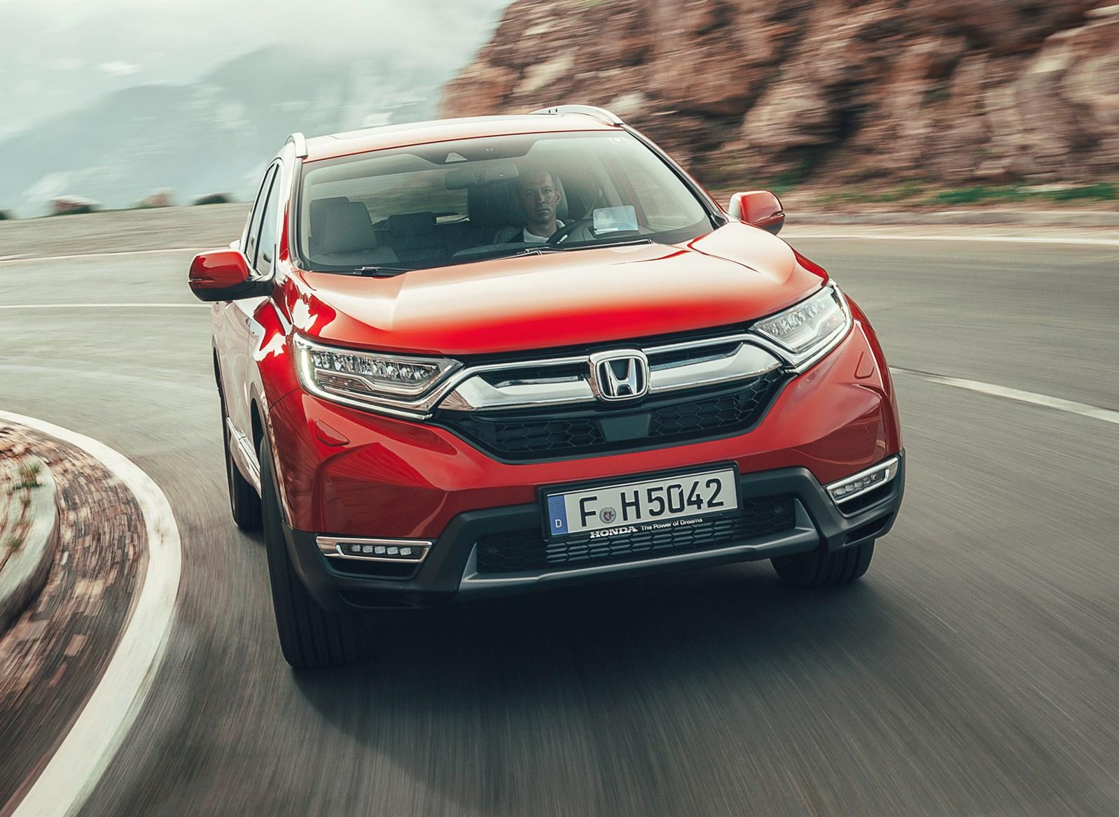 Honda 2018 Cr V Driving