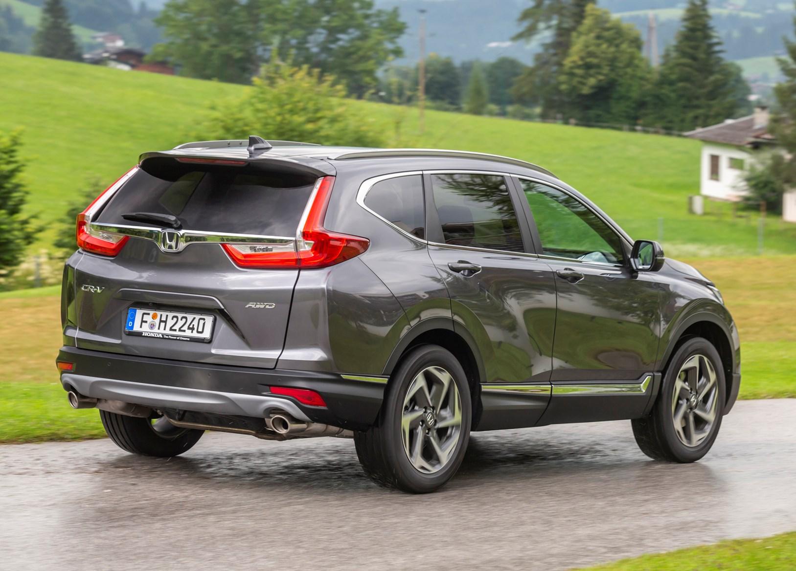 ... Honda 2018 CR V Driving ...
