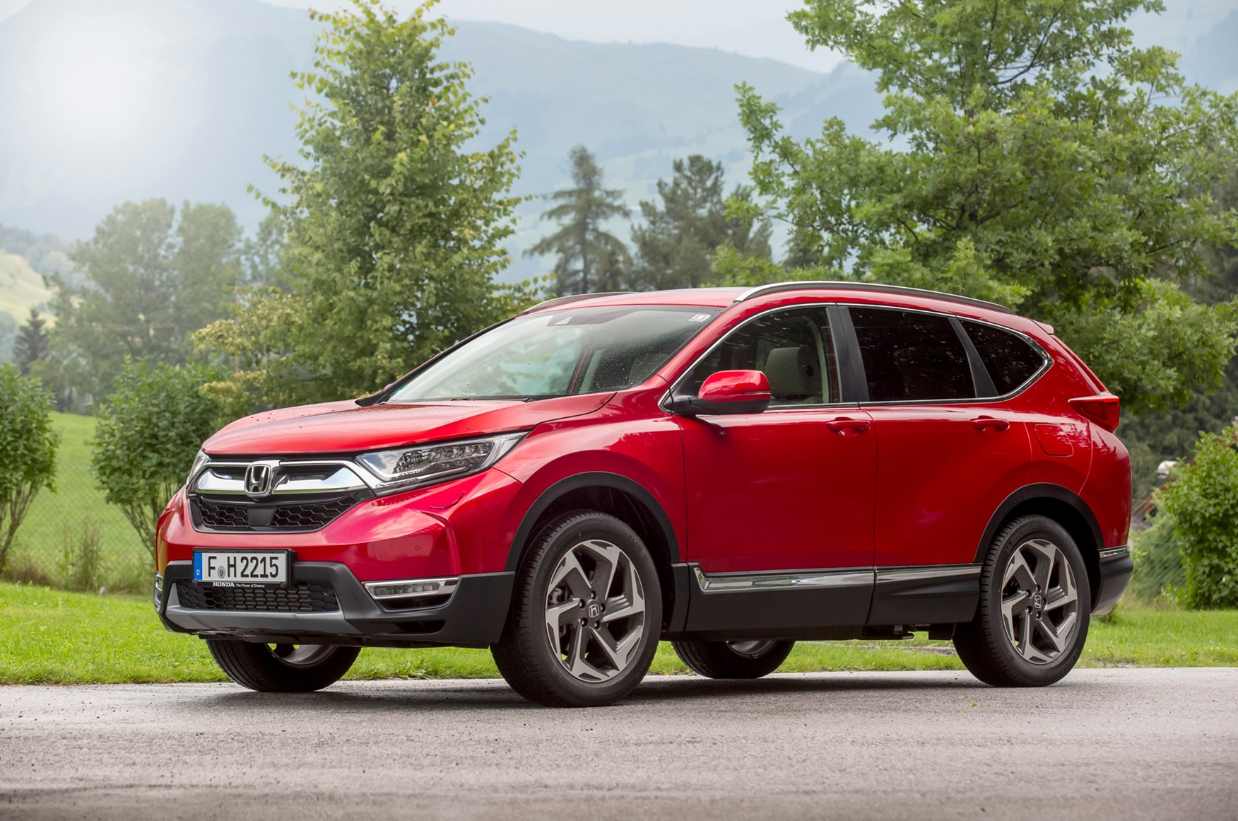 Honda CR-V (2019) Practicality, Boot Space & Dimensions