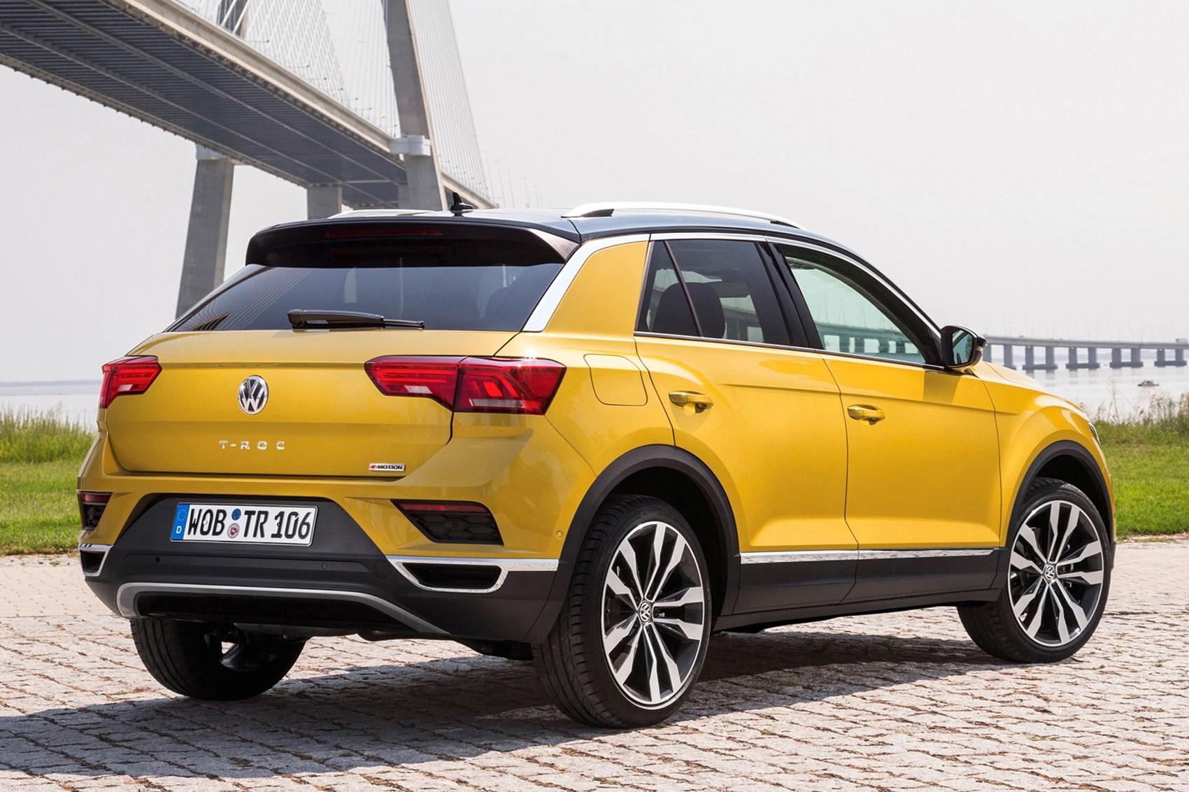 Volkswagen T Roc 2018 Review Parkers