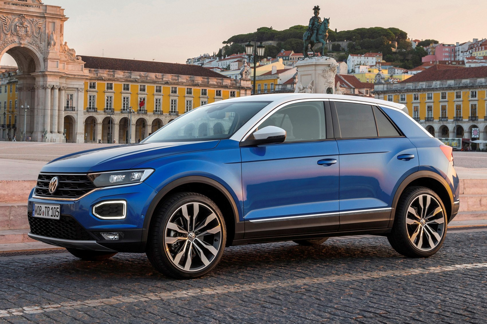 vw t roc review running costs parkers. Black Bedroom Furniture Sets. Home Design Ideas