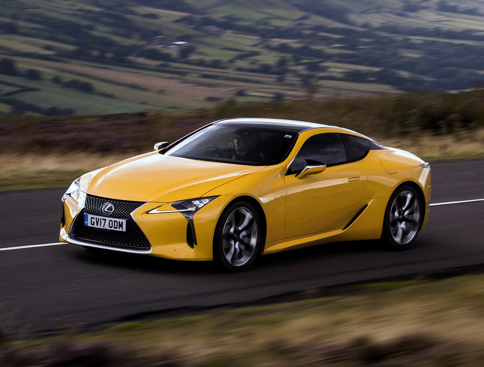 Lexus 2017 Lc Coupe Driving