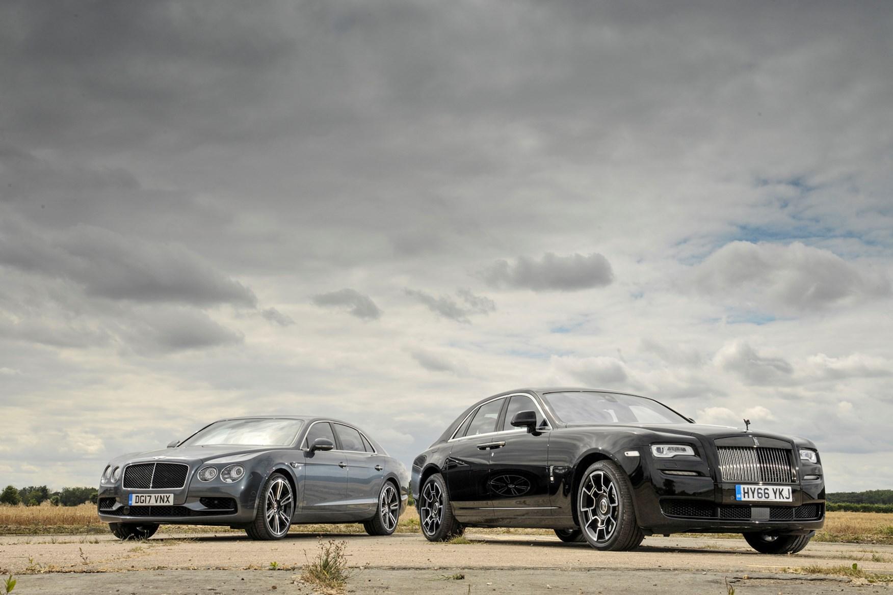 Twin Test: Bentley Flying Spur Vs Rolls-Royce Ghost