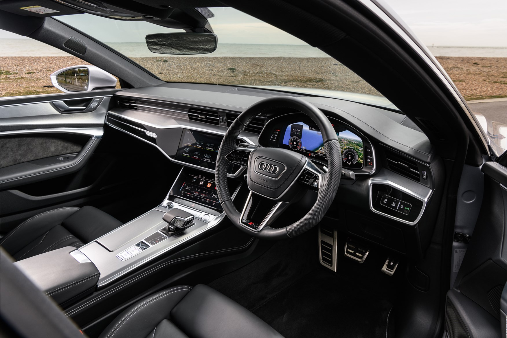 audi a7 sportback review features safety and. Black Bedroom Furniture Sets. Home Design Ideas