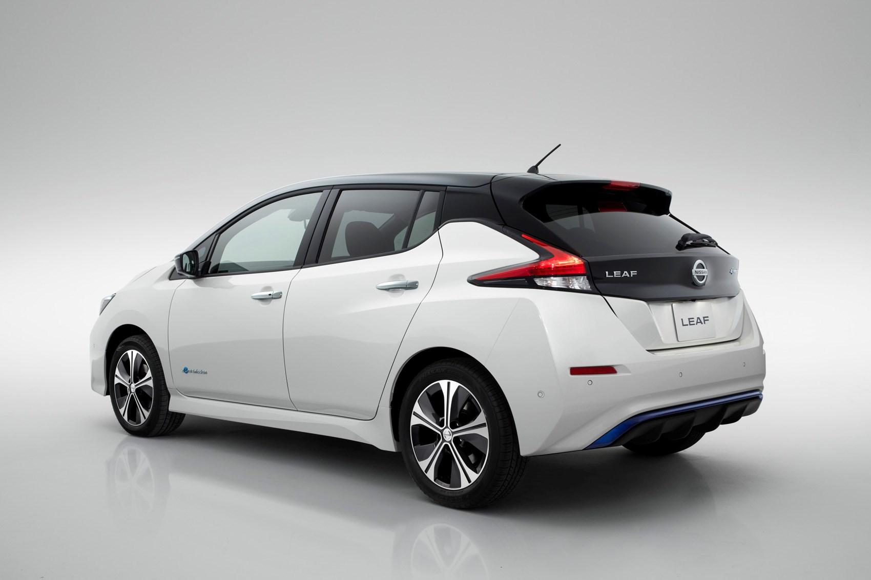 ... Nissan 2018 Leaf Static Exterior ...