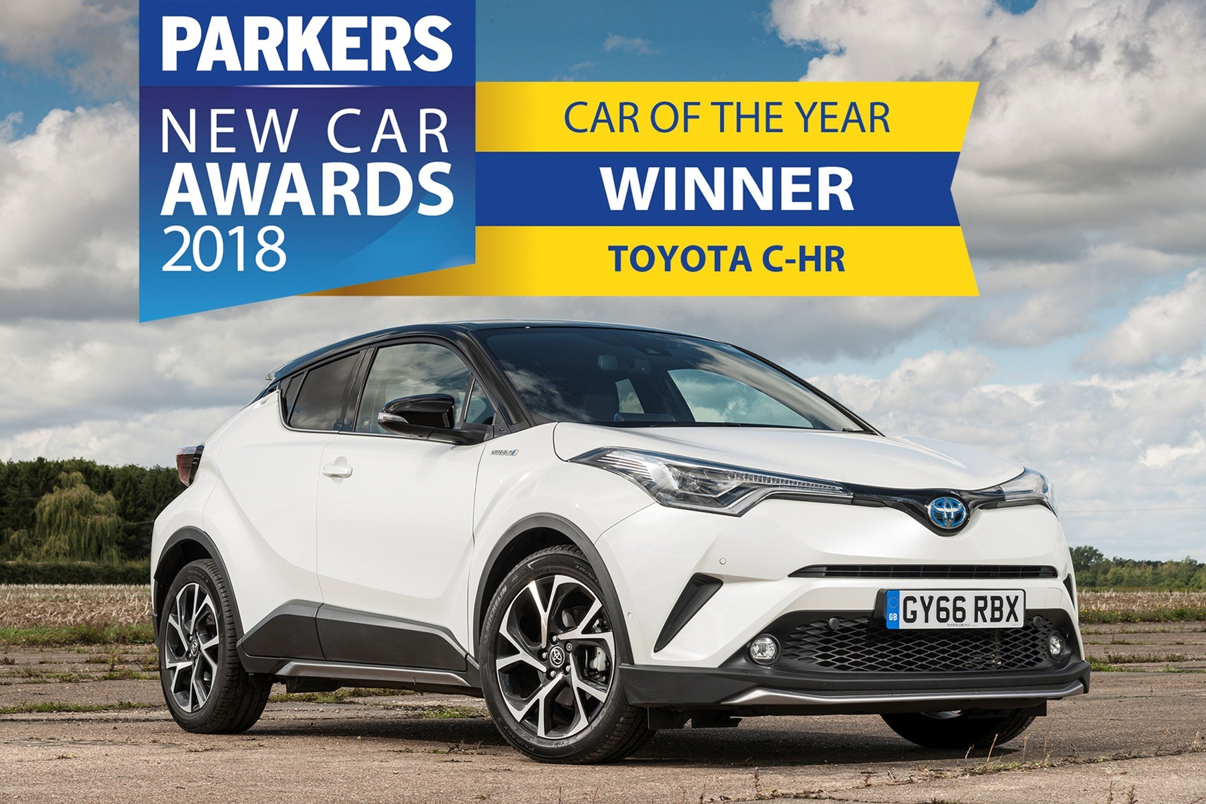 Toyota C Hr Wins Parkers New Car Award 2017