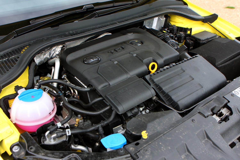 Skoda Fabia TDI engine ...