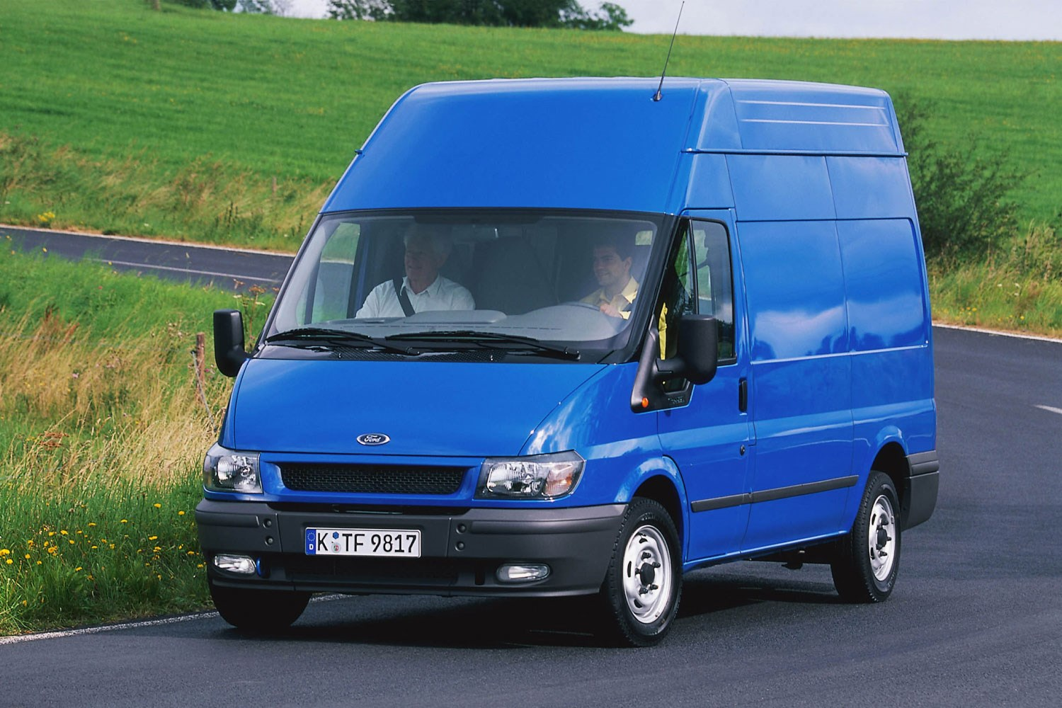 ford transit van review 2000 2006 parkers. Black Bedroom Furniture Sets. Home Design Ideas