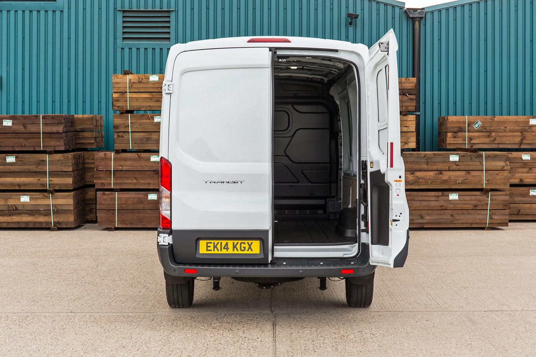 Ford Transit van dimensions, capacity, payload, volume ...