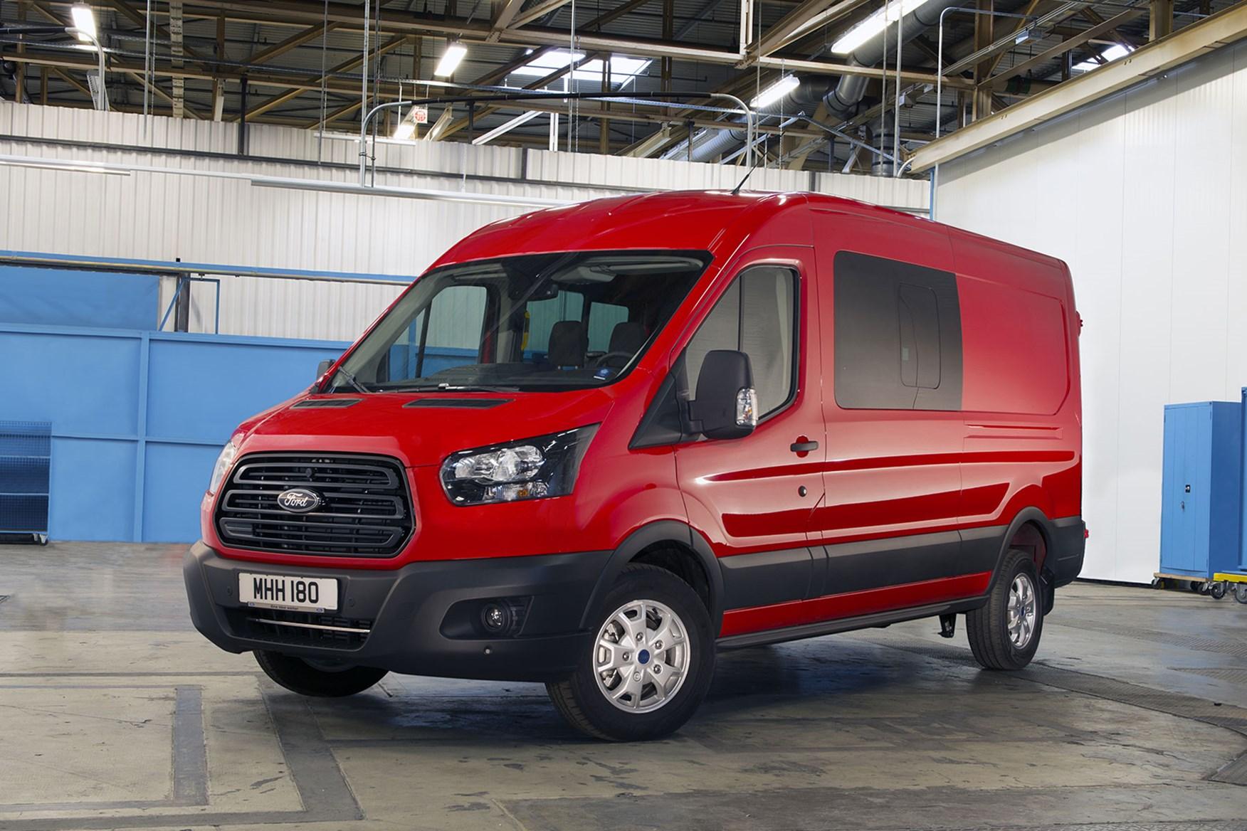 Ford Transit van dimensions, capacity, payload, volume