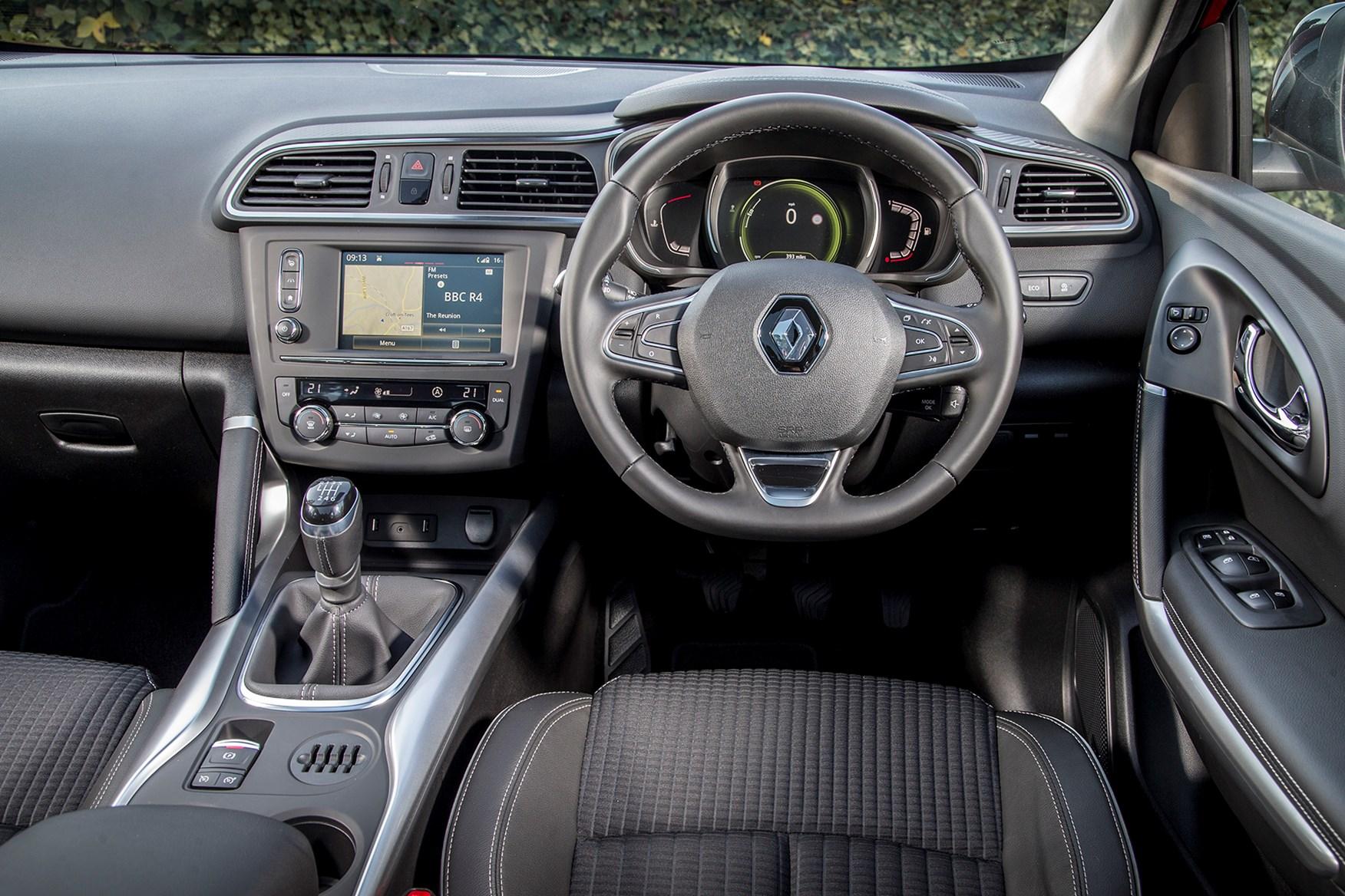 Dynamique SE Nav adds extra appeal to Renault Kadjar range
